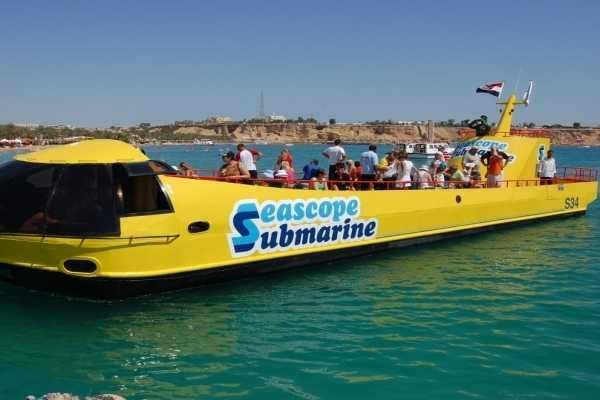 EMO TOURS EGYPT 预算旅游潜水艇在赫尔格达