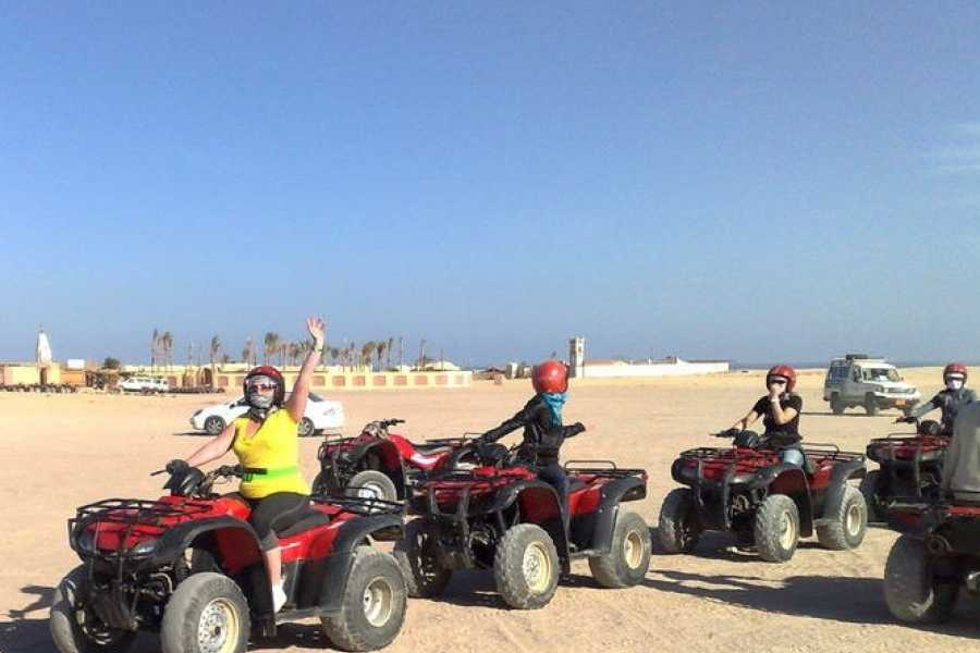 EMO TOURS EGYPT BUDGET SUNSET DESERT SAFARI TRIP DURCH QUAD IN HURGHADA
