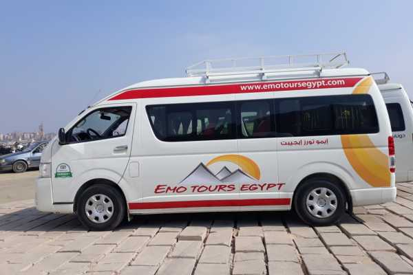 EMO TOURS EGYPT TRANSFERÊNCIAS DO RECOLHIMENTO DO CAIRO PARA HURGHADA POR MINI BUS