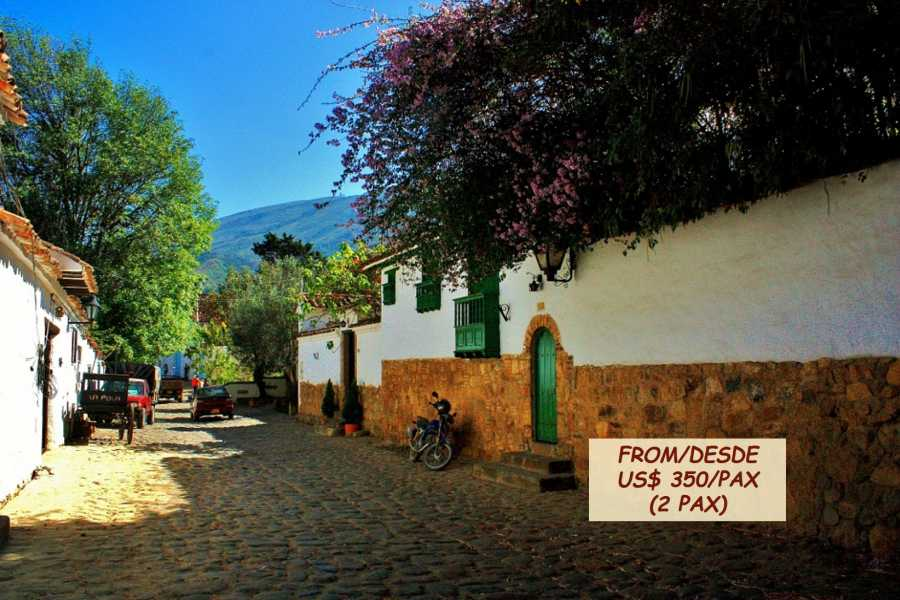 Bogota Henry Tours VILLA DE LEYVA AND RAQUIRA, 2 DAYS PRIVATE TOUR