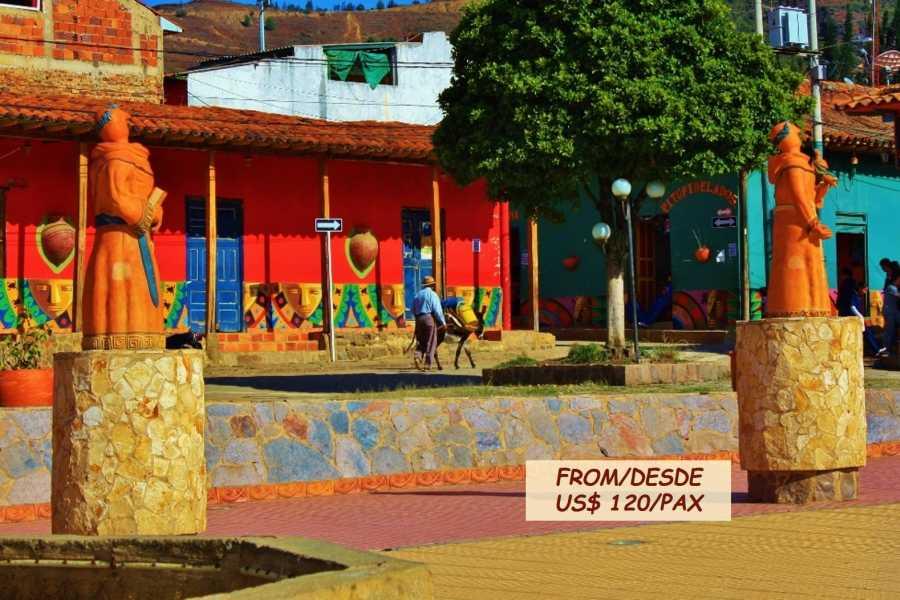 Bogota Henry Tours VILLA DE LEYVA AND RAQUIRA 12 HOURS PRIVATE TOUR