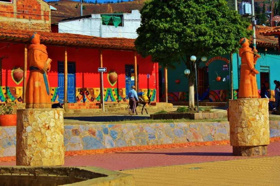 Bogota Henry Tours 40. VILLA DE LEYVA Y RÁQUIRA, PRIVADO 12 HORAS, 1-4 PERSONAS