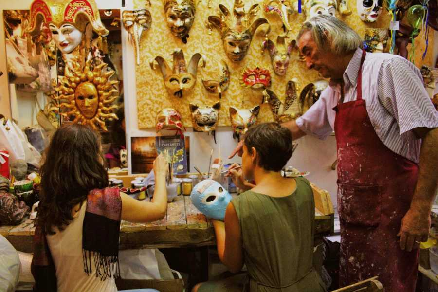 Venice Tours srl Crée ton propre masque