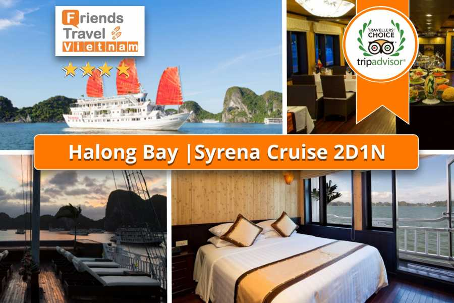 Friends Travel Vietnam Syrena Cruise | 2D1N Halong Bay