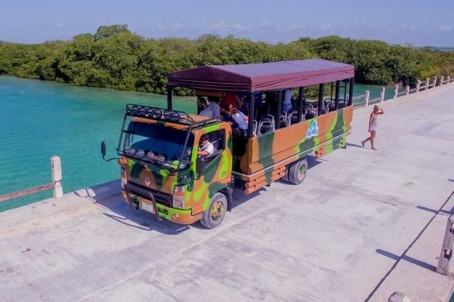VIAJERO MEXICO Sian Kaan Truck Safari
