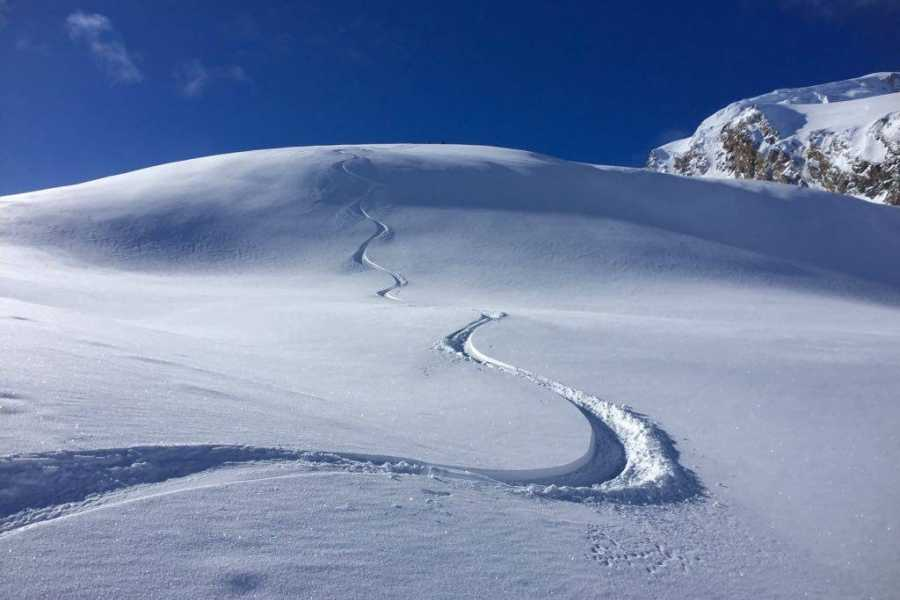 Saas-Fee Guides Ski - Splitboard Rookie Tour