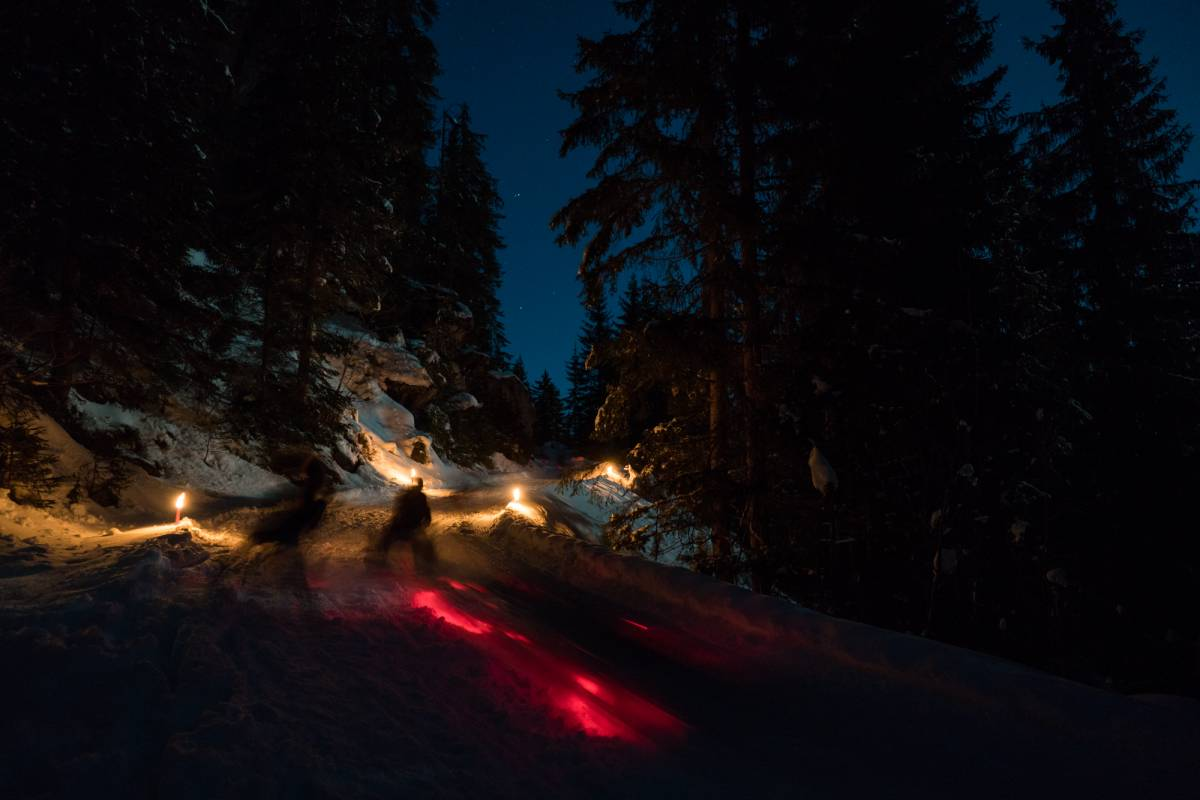 Outdoor Interlaken AG Night Sledding