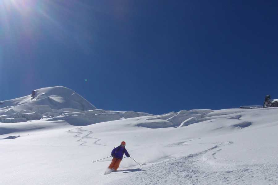 Saas-Fee Guides Allalinhorn 4027m ski tour