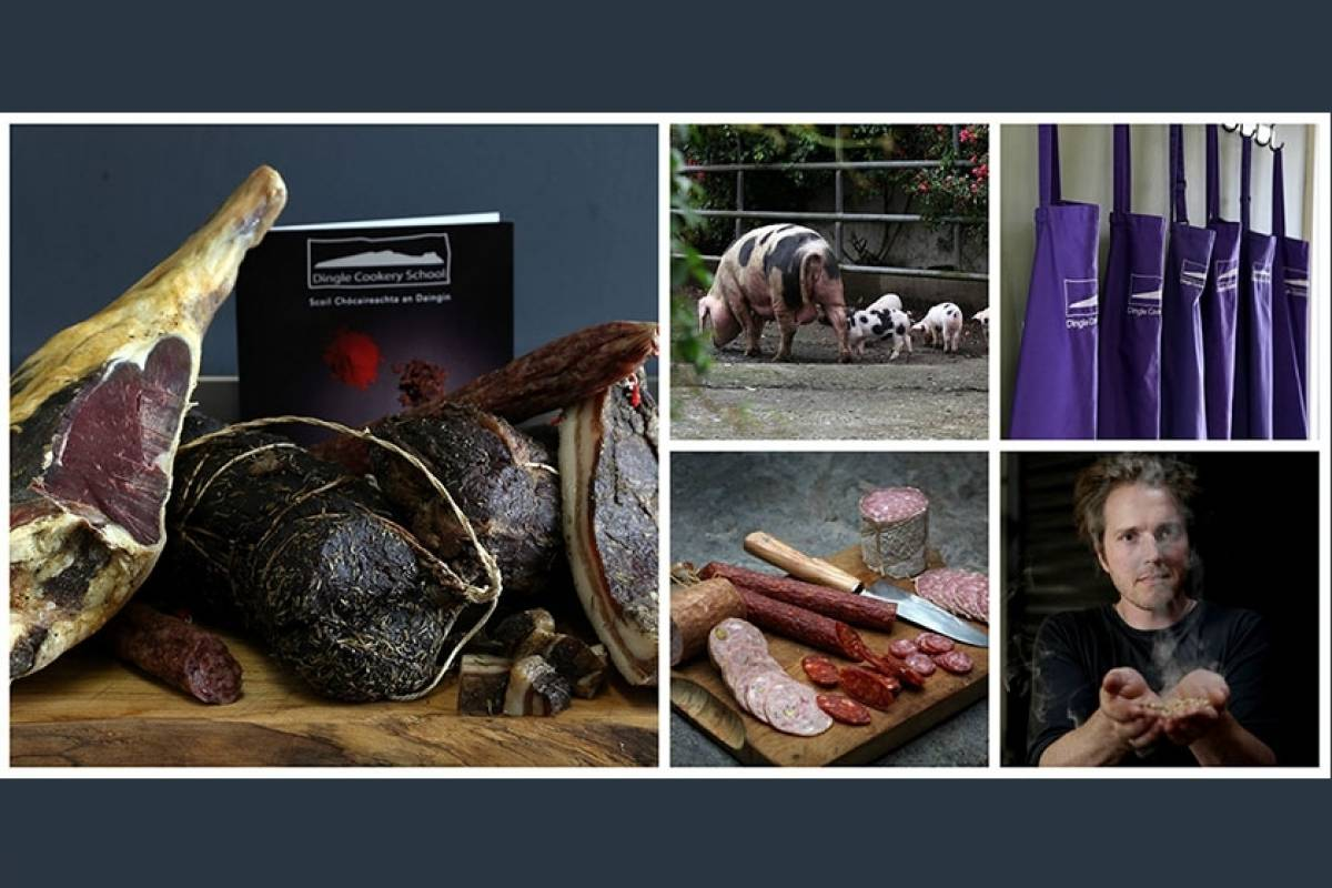 Good Food Ireland Ultimate Butchery and Curing Weekend at Dingle Cookery School