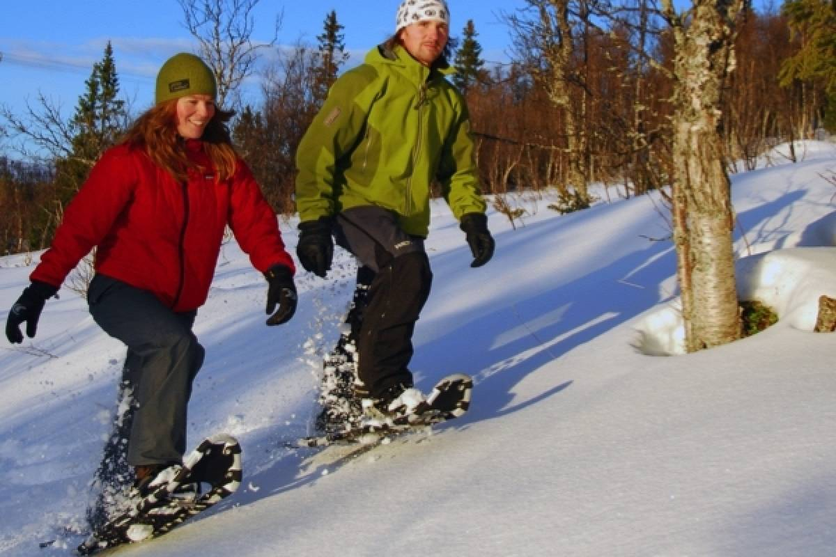 Camp Åre Snowshoe walk