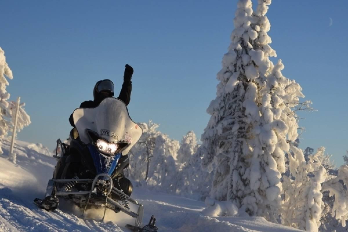 Camp Åre Snöskotertur