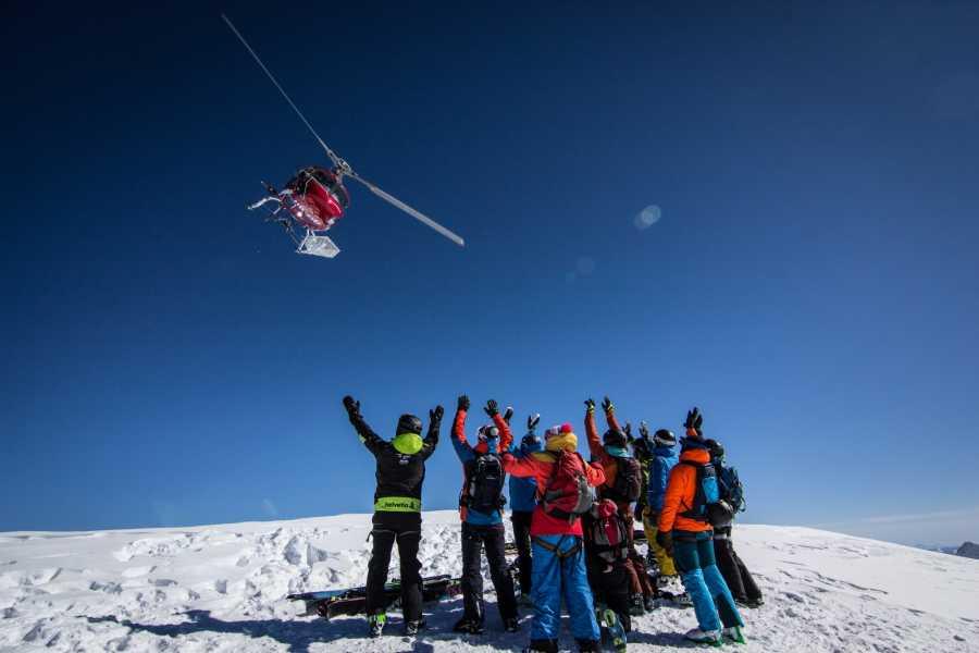 Saas-Fee Guides Heli-skiing