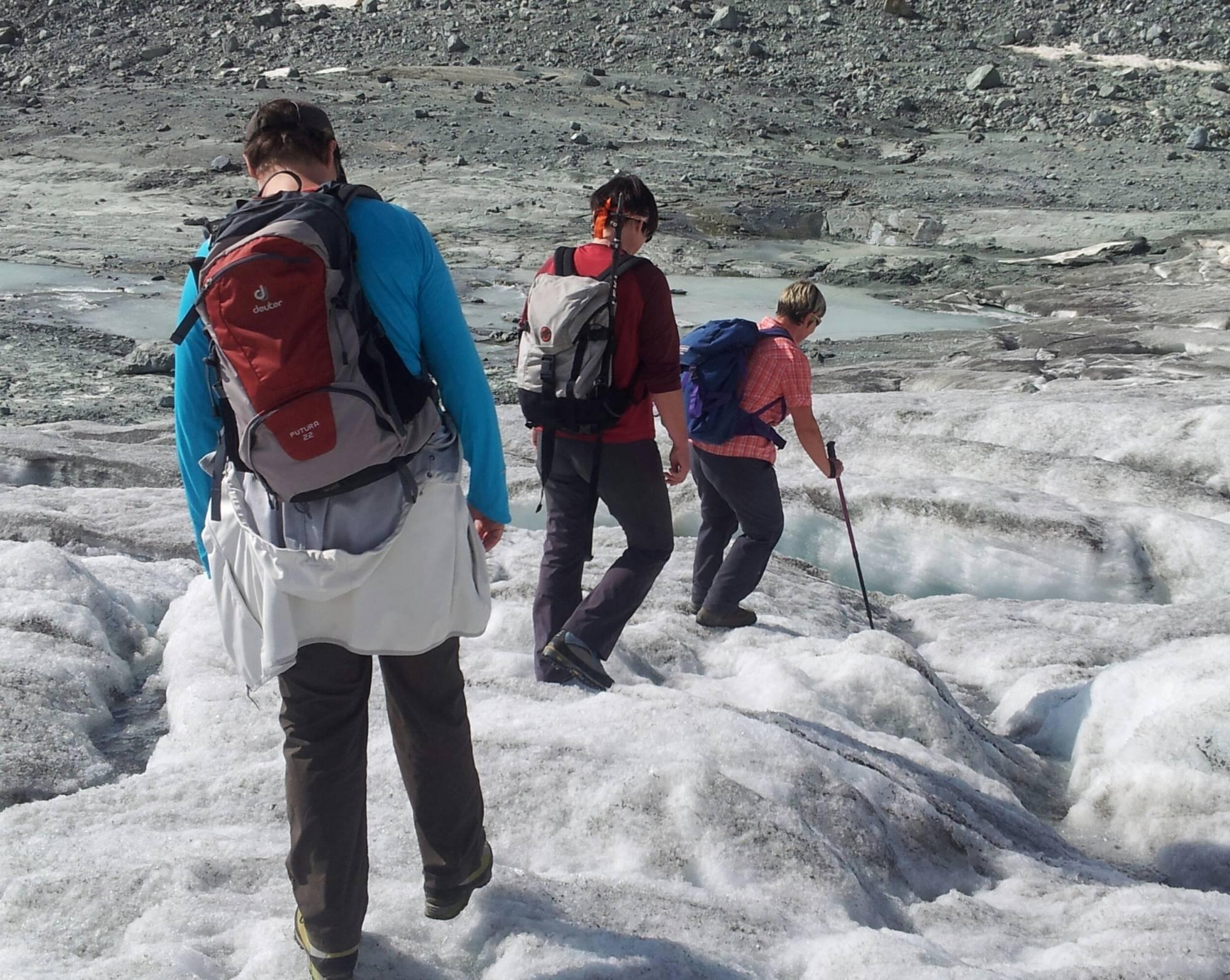 Klettergurt Für Gletscher : Gletscher safari sommer gletschertrekking saas fee guides
