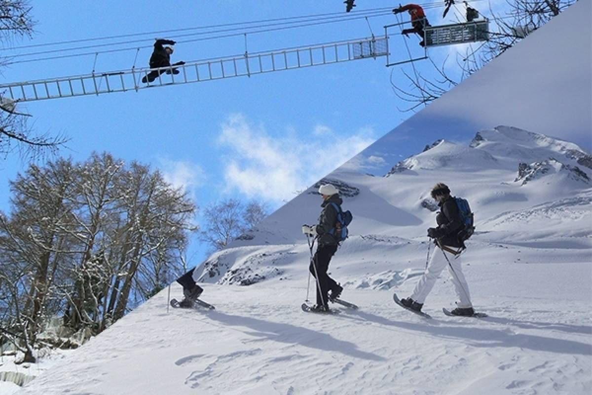 Saas-Fee Guides Winter Adventure Package