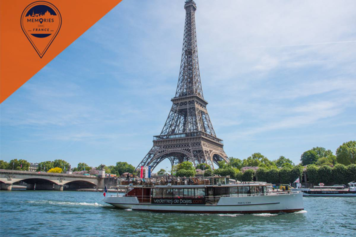 Memories DMC France Champagne Seine River Cruise & Eiffel Tower with Summit & timed entry