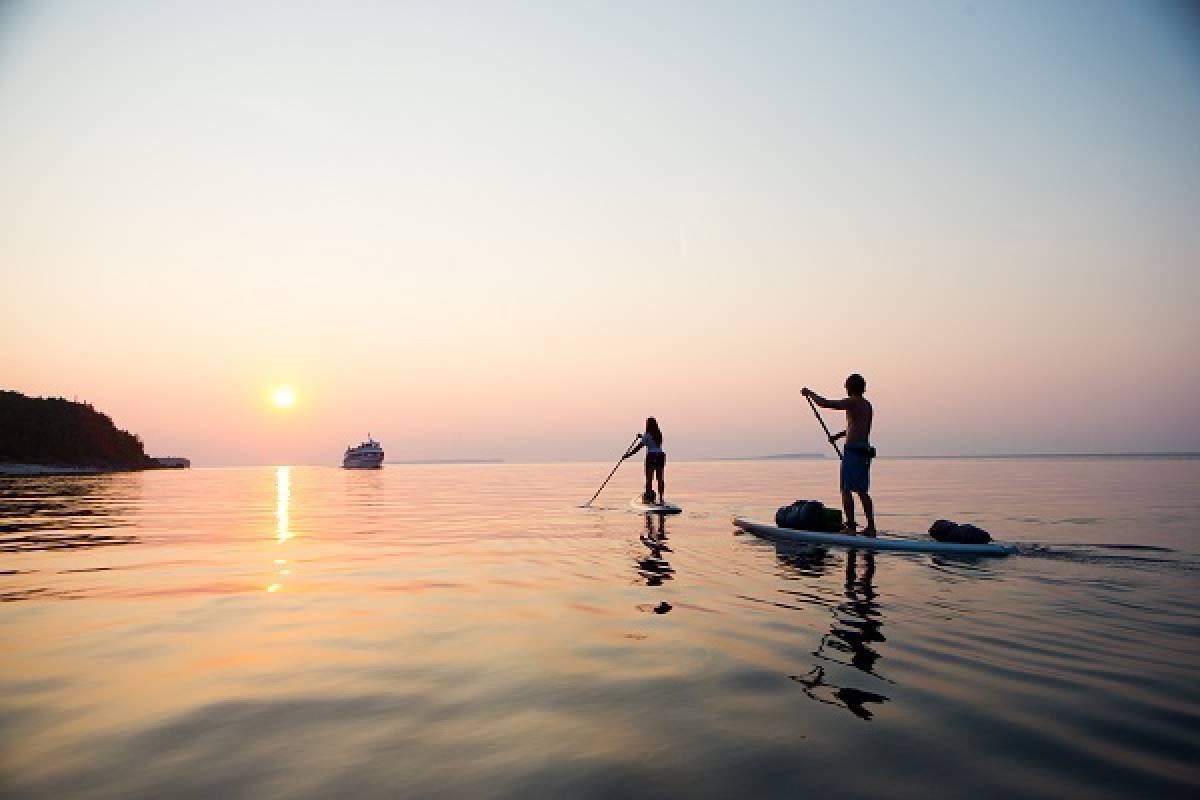 Kayak More Tomorrow AS Art Nouveau SUPing and Sugar Summit