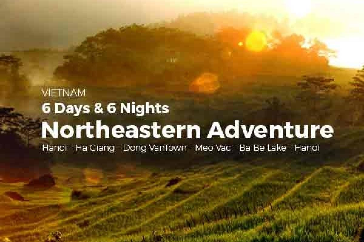 OCEAN TOURS 6D6N NORTHEASTERN ADVENTURE (Price for 2 pax)