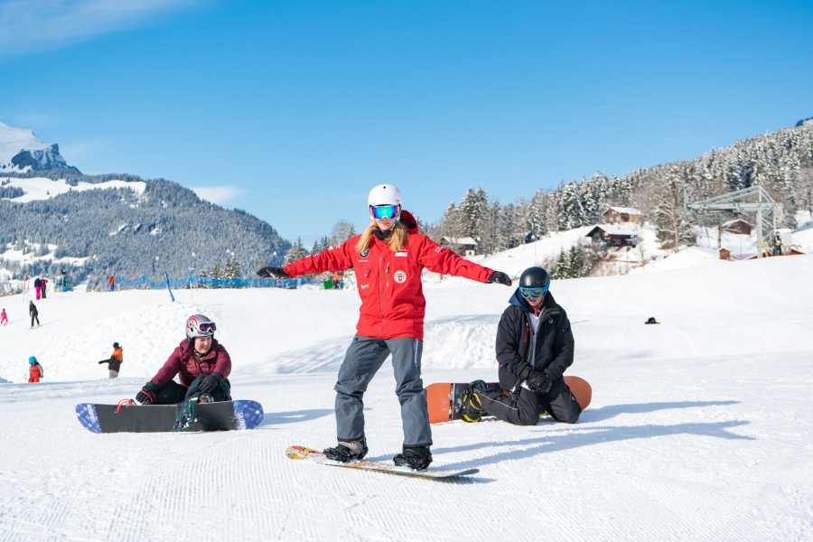 Outdoor Interlaken AG 하프데이 패키지 - 스노보드 (1/2 Day Beginners Snowboard Package)