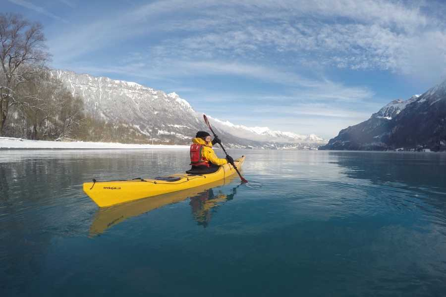 Hightide Kayak School Winter Kayak Tours Lake Brienz