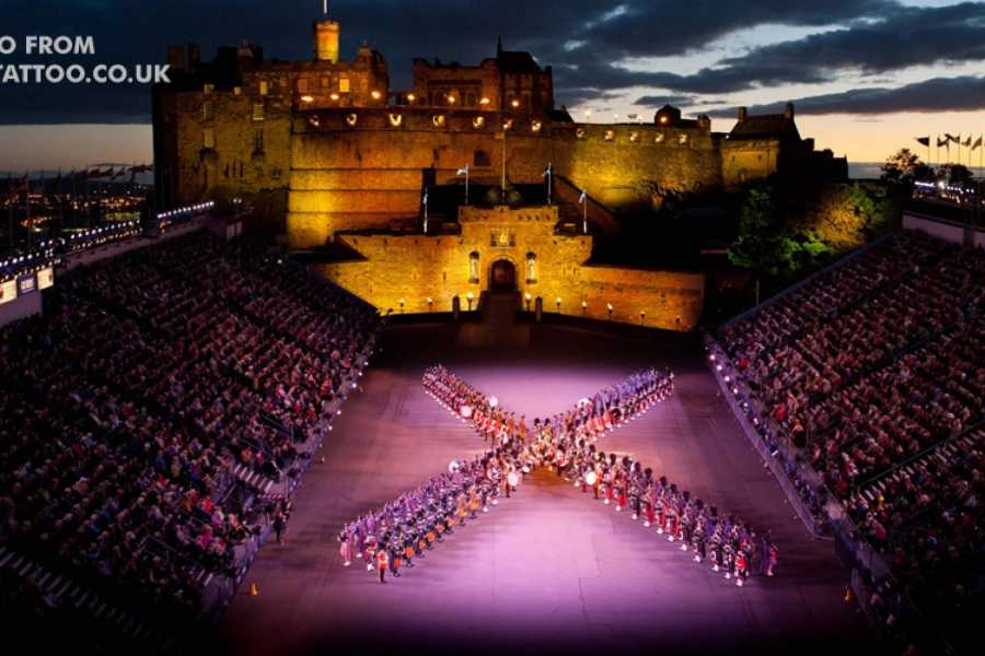 Clyde Coast Tourism Ltd Edinburgh Military Tattoo Tour from Edinburgh