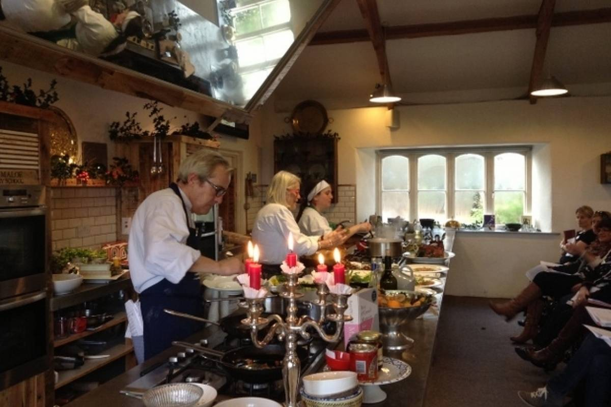 Good Food Ireland Hands on Christmas Party at Ballymaloe Cookery School