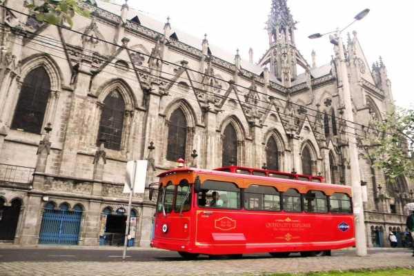 1914 Original trolley city tour of Quito