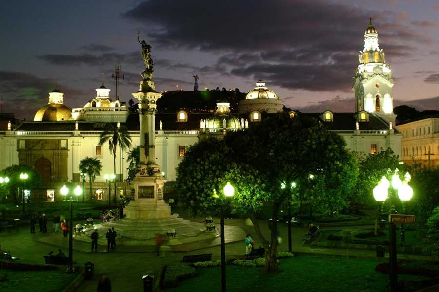 Gray Line Ecuador Urban Legends of Quito at night (with dinner)