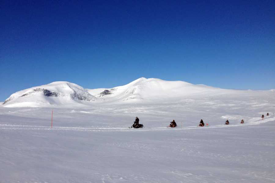 Puls Camp Åre Snowmobile safari 2h