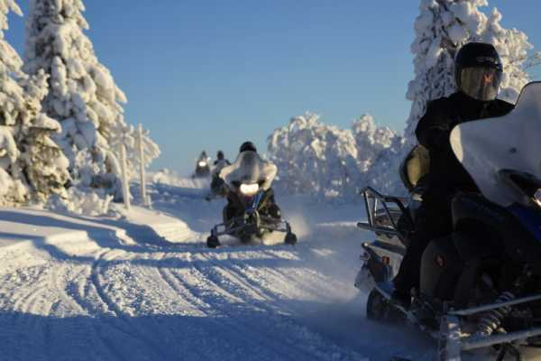 Puls Camp Åre Snowmobile safari 4h