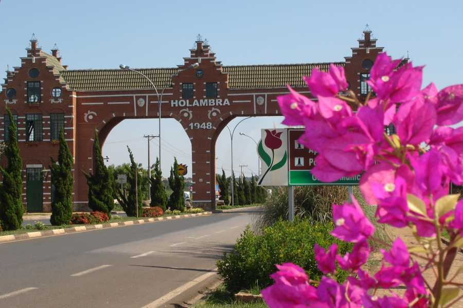 Check Point Holambra Sightseeing Tour with Visitation to the Fields of Flowers