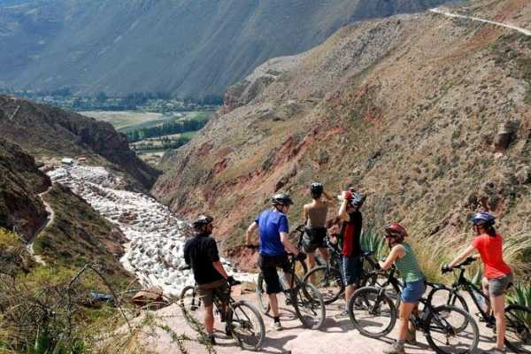Conde Travel Maras and Moray Biking Tour from Cusco