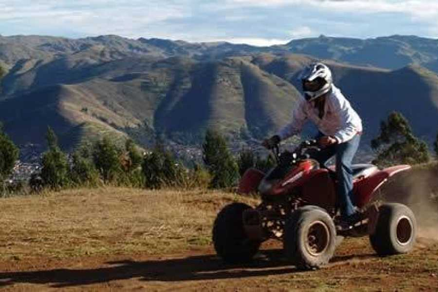 Conde Travel Quad Bike ATV cusco Maras Moray
