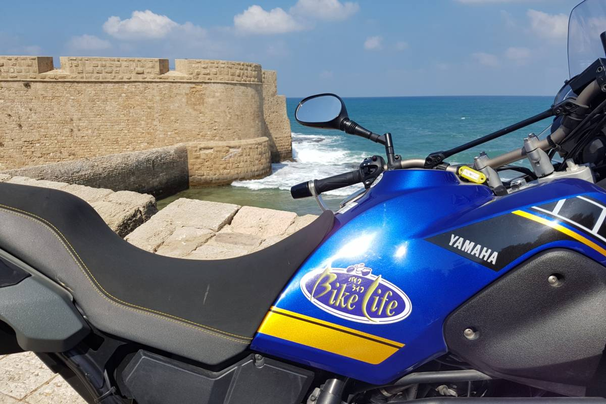 Bikelife - Motorcycle Tours in Israel The 4 Seas Challenge
