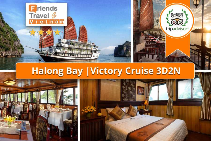 Friends Travel Vietnam Victory Cruise  | Bai Tu Long Bay 3D2N