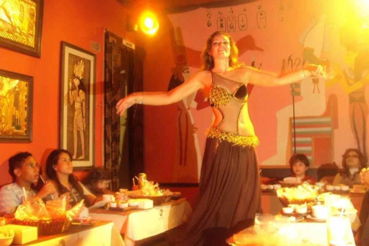 Check Point By Night - Noite Árabe com Dança do Ventre