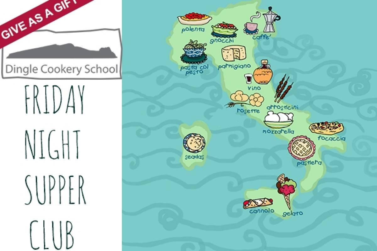 Good Food Ireland Italian Friday Night Supper Club at Dingle Cookery School