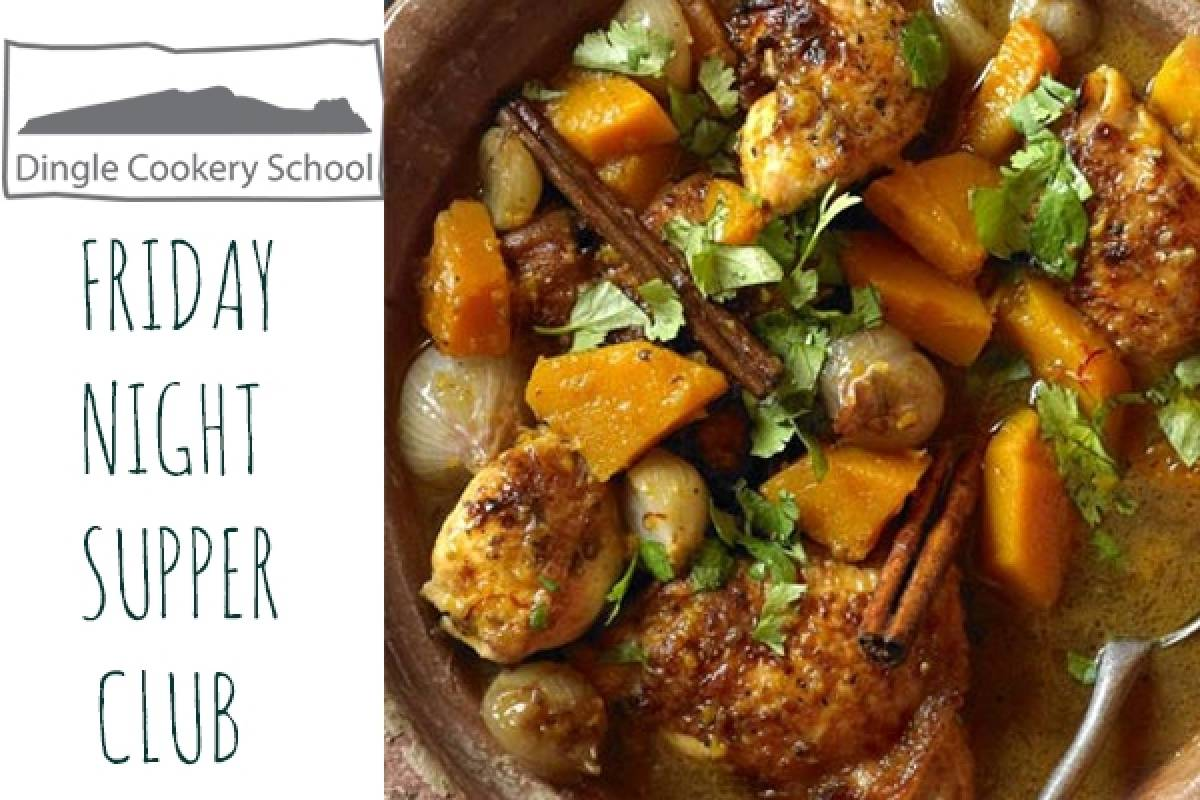 Good Food Ireland North African Friday Night Supper Club at Dingle Cookery School