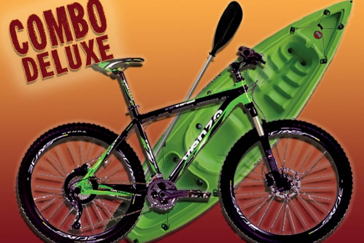 Circuito Chico Adventure Combo Deluxe - Bike + 1 h. Kayak o SUP