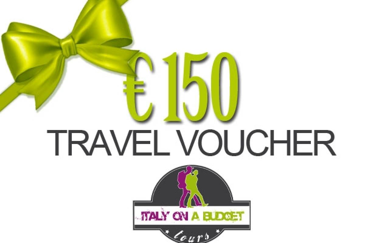 Italy on a Budget tours € 150 TRAVEL VOUCHER