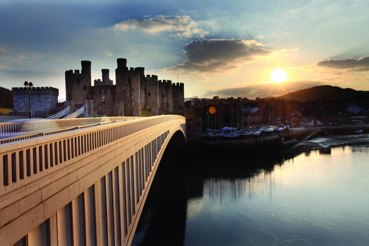 Cambria Tours Conwy Valley Driver-Guided Day Trip