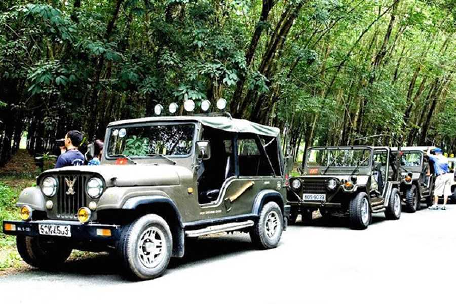 Les Rives Authentic River Experience Cu Chi Tour and Vietnamese Countryside Experience by Jeep