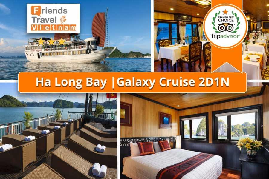 Friends Travel Vietnam Galaxy Cruise | 2D1N Halong Bay