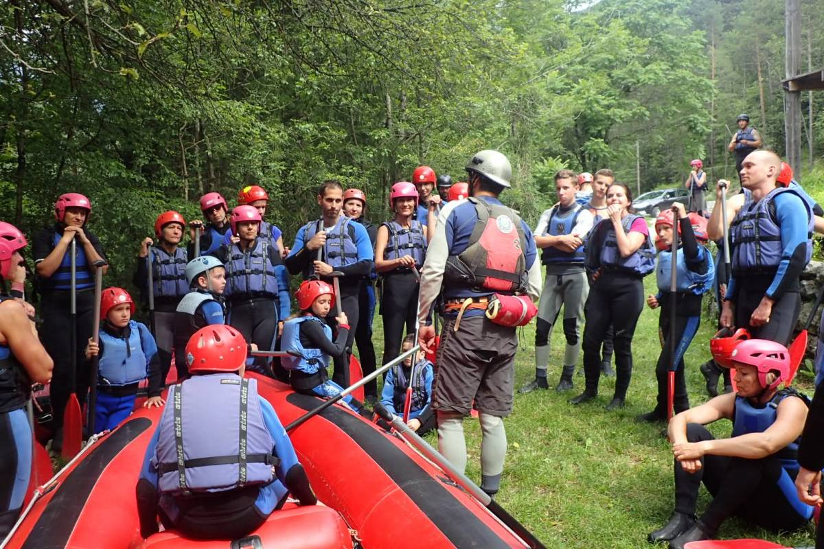 HungaroRaft Kft IRF Trip Leader Course and Assessment