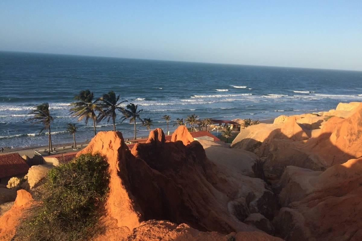 Check Point Tour a Praia de Morro Branco - Ceará