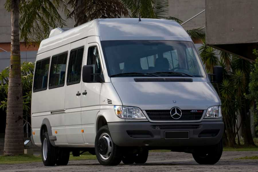 Check Point Aluguel vans e mini-vans - Mercedes Sprinter