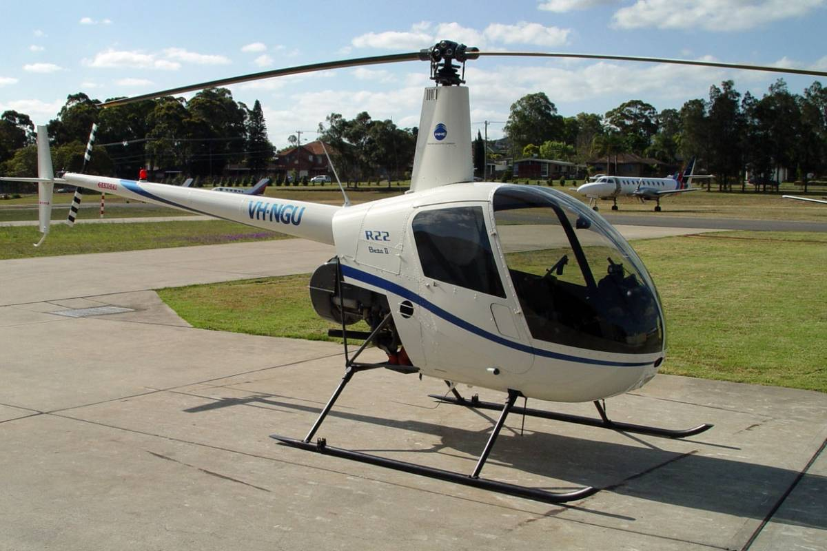 Check Point Rental Helicopter - Robinson 22