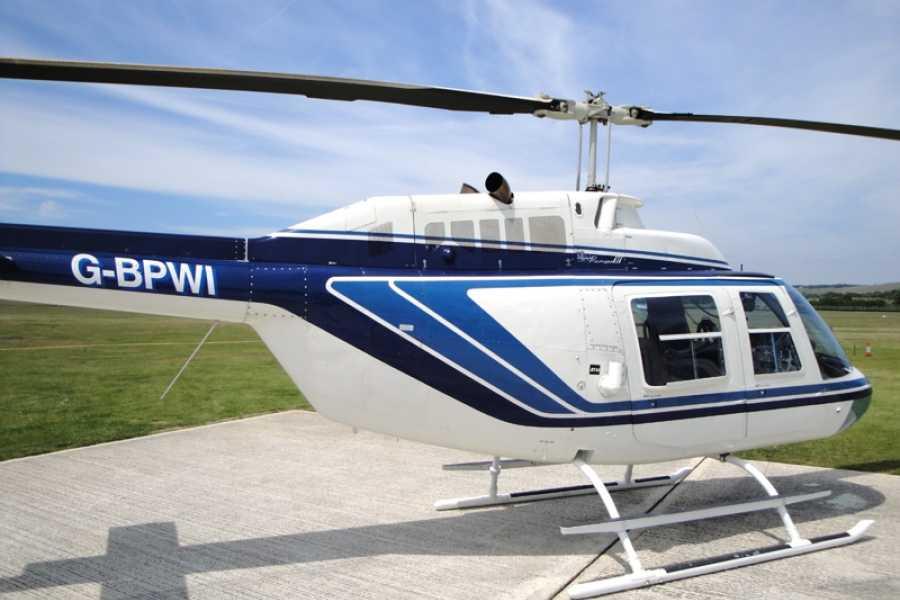 Check Point Aluguel helicópteros - Jet Ranger