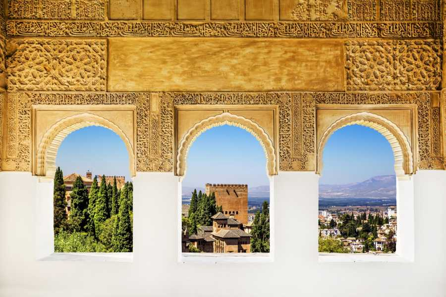 NHUE GOLD DOUBLOON: ALHAMBRA, ALBAICIN AND THEIR NASRID PALACES TOUR