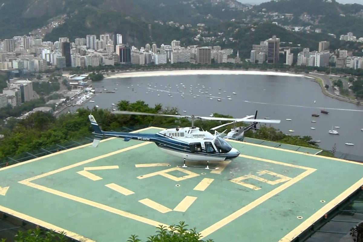 Check Point Partida apenas do Heliponto do Morro da Urca