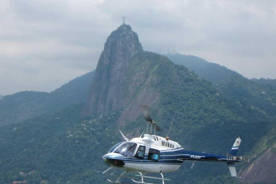 Check Point Ponto de partida a escolher (Heliponto do Morro da Urca ou Lagoa Rodrigo de Freitas)